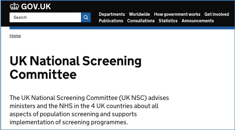 NationalScreening